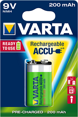 accu 9v rechargeable